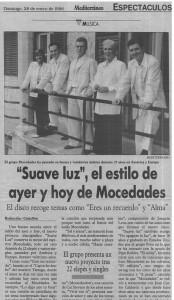 mocedades enero 1996