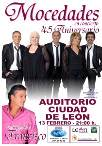 CARTEL MOCEDADES Y FRANCISCO LEÓN FEB 2015